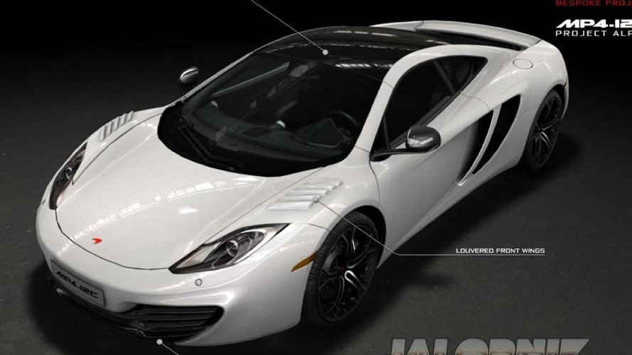McLaren MP4-12C Project Alpha revealed in leaked brochure