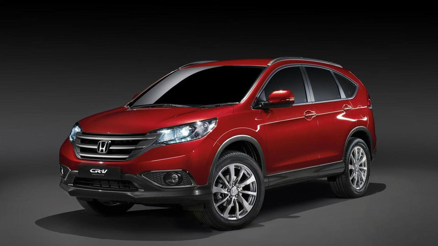 European Honda CR-V pre-production prototype previewed