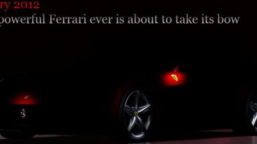 2013 Ferrari 620 GT teaser #3 released [video]