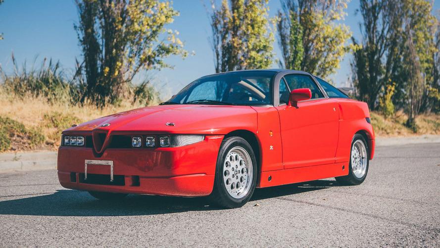 eBay'de bulunan 1991 Alfa Romeo SZ benzersiz bir otomobil