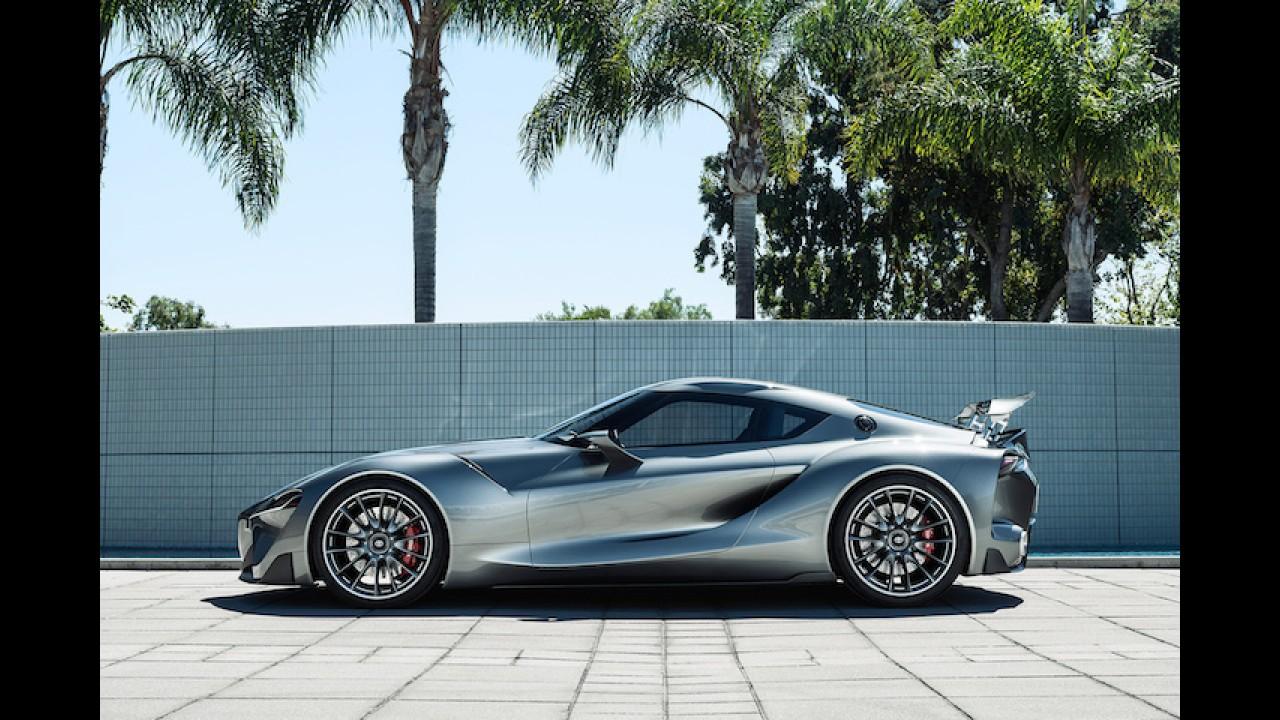 Toyota'nın yeni spor otomobili FT1 harika gözüküyor