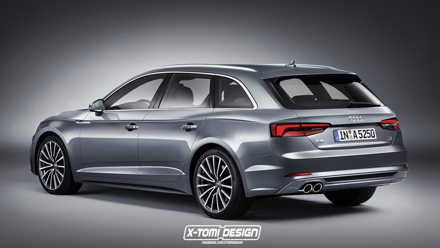2018 Audi A5 Avant rendering is quite the looker