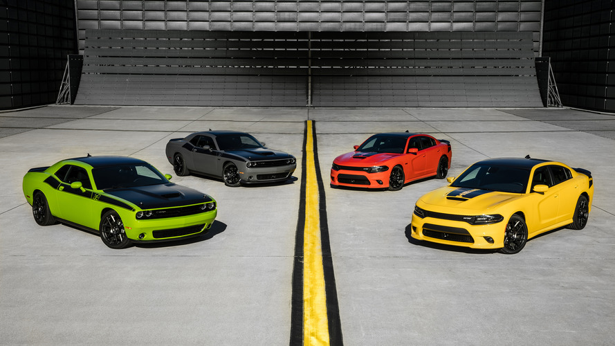 2017 Dodge Challenger T/A and Charger Daytona: Live