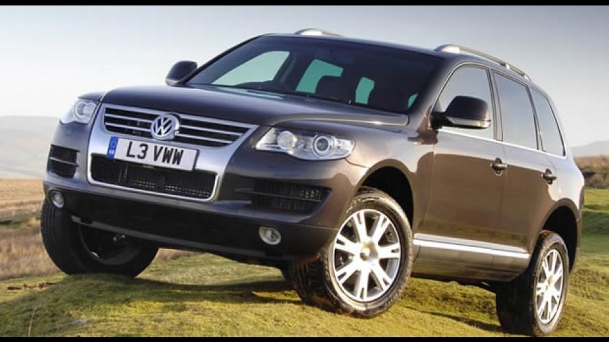 """Volkswagen anuncia Recall do Touareg para reforço do """"spoiler"""" traseiro"""
