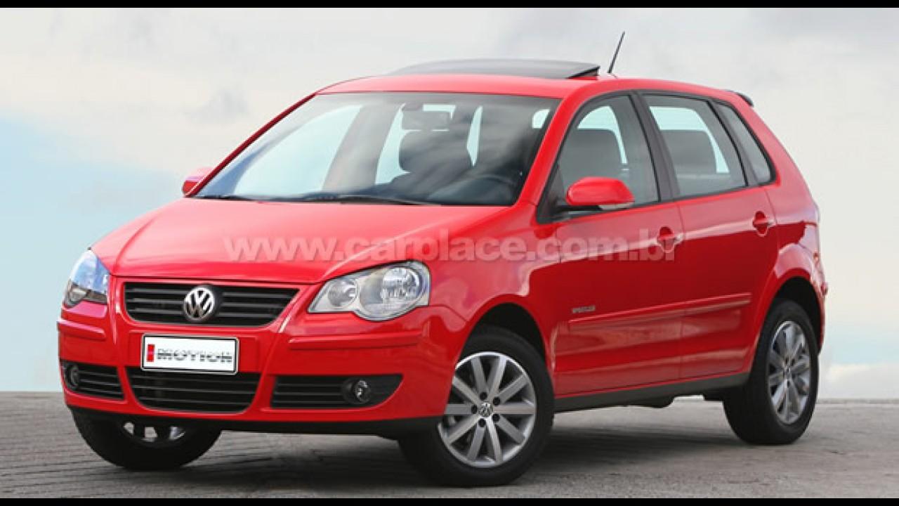 Novo Polo I-Motion 2010 chega com preço inicial de R$ 42.580 - Volante é o mesmo do Passat CC