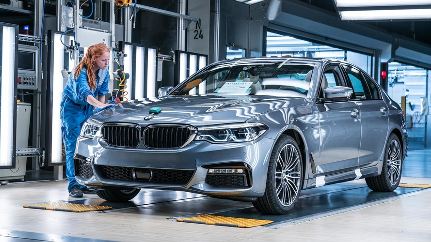 See How Much The 2017 BMW 5 Series Costs In Germany UK
