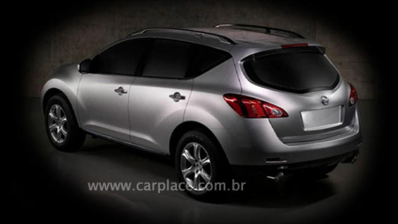 Antes Do Lancamento Nissan Murano 2009