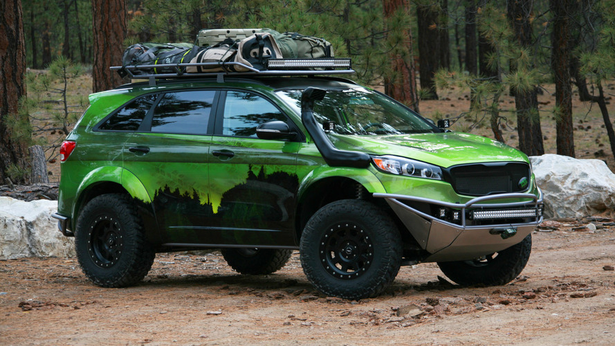 Kia PacWest Adventure Sorento arrives at SEMA