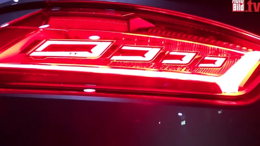 2016 Audi TT RS at CES teases us with OLED taillights [video]
