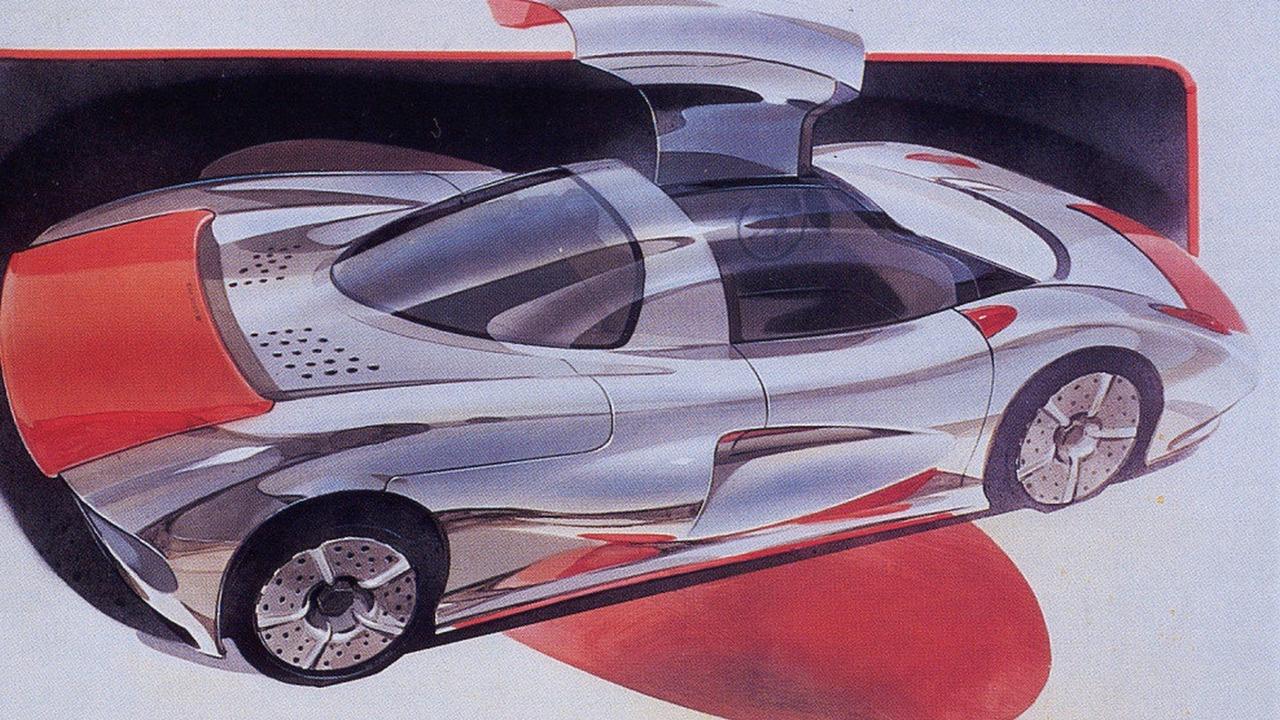 1988 Jiotto Caspita: забытые концепт-кары