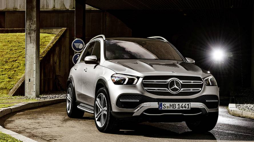 2019 Mercedes GLE shows off revamped design in official videos