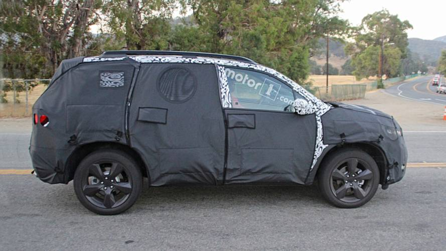 Honda Passport SUV Spy Photo