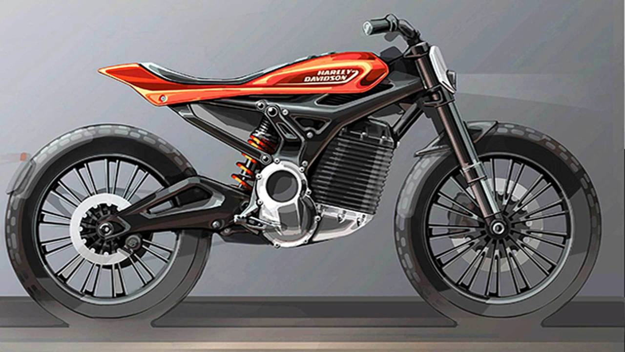 One of the proposed Harley electric bikes.