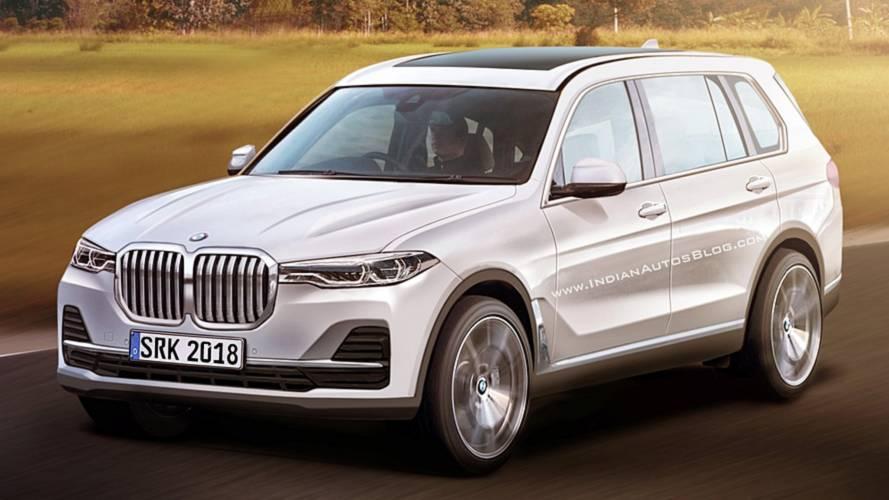 Le futur BMW X7 plus vrai que nature
