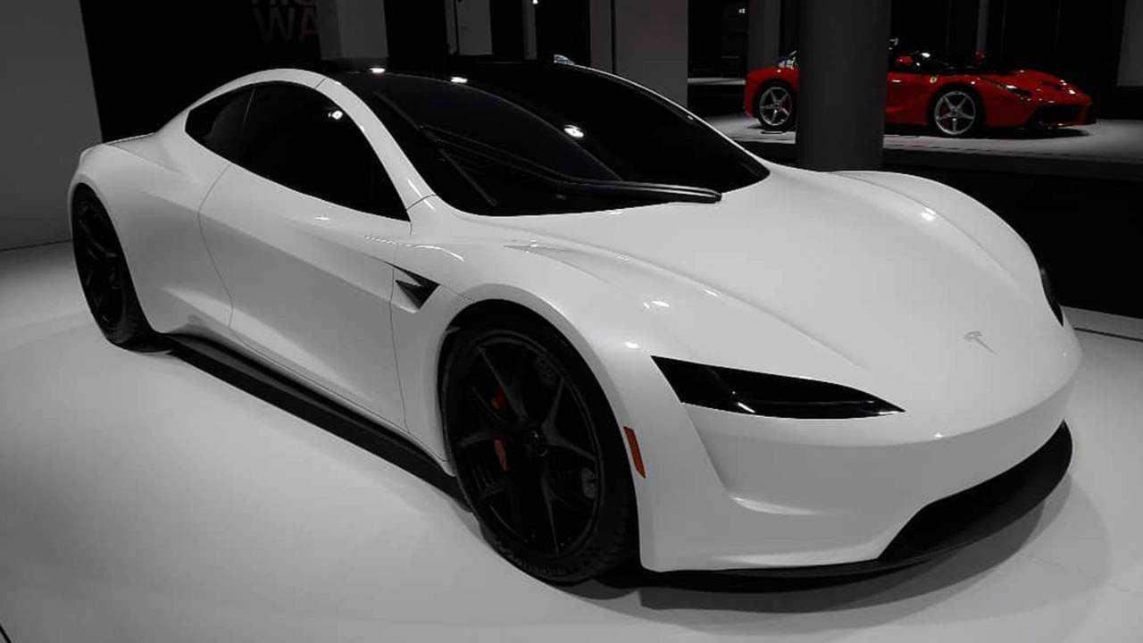 Tesla Roadster Live From Grand Basel
