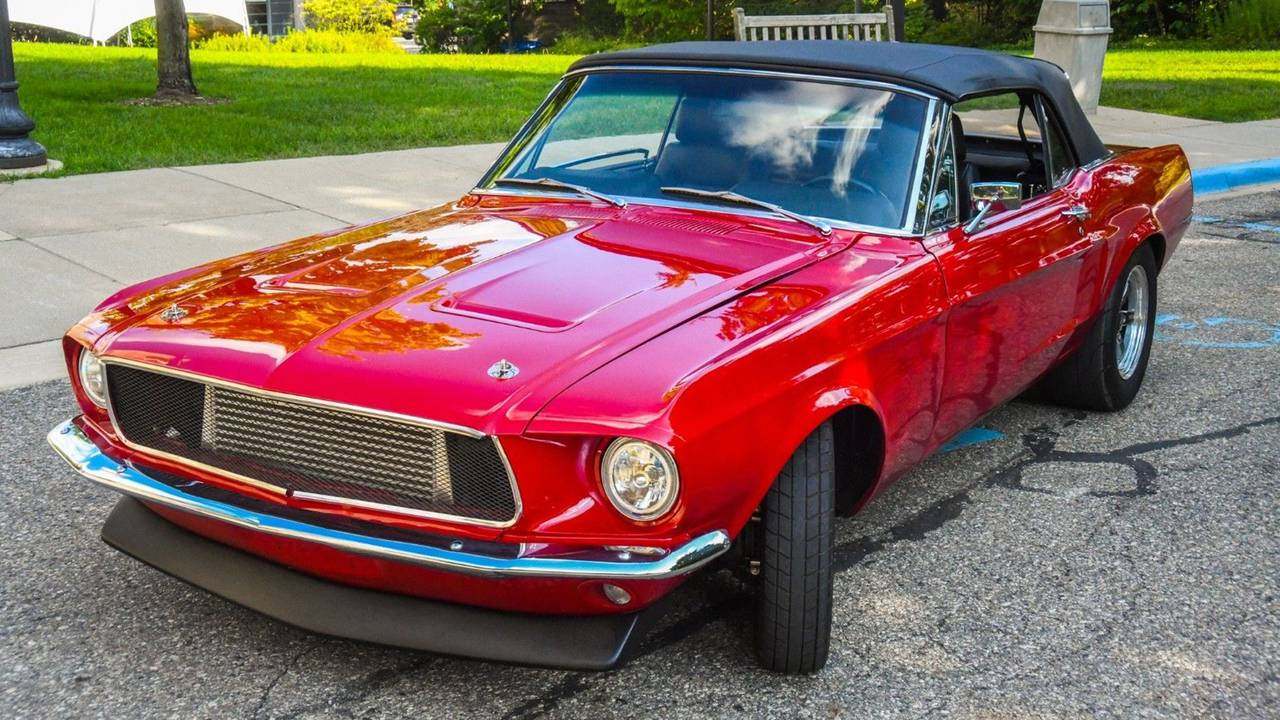 Supra-Swapped 1968 Ford Mustang