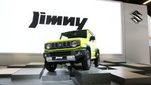 Suzuki Jimny at the Paris Motor Show