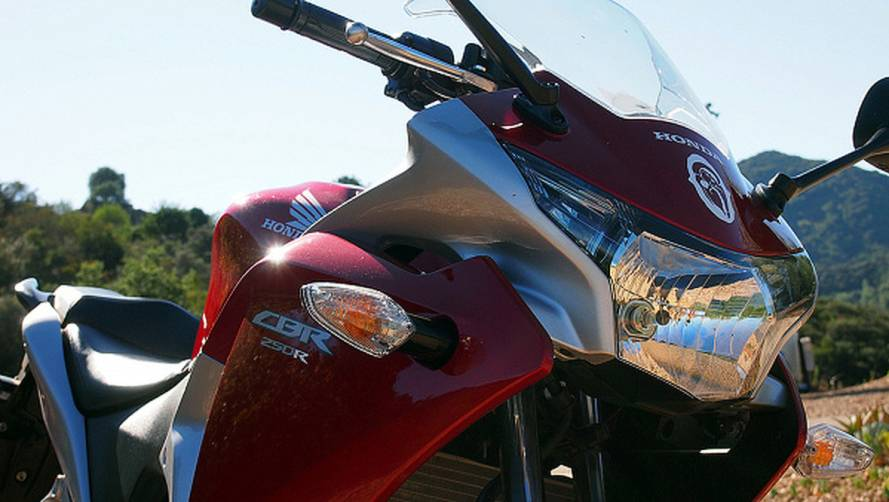 The surprising thing about the Honda CBR250R