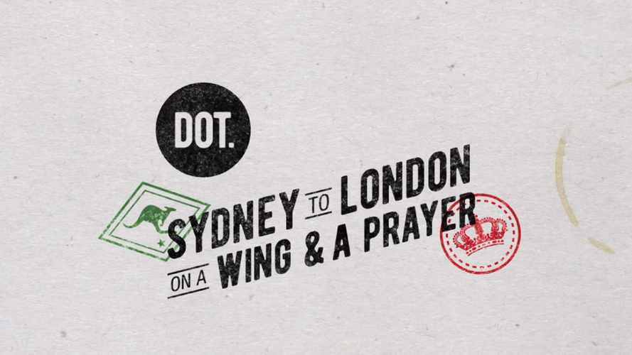 Sydney to London on a Wing and a Prayer