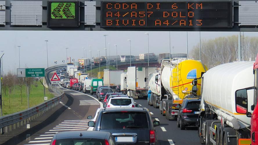 Previsioni traffico weekend 4 e 5 agosto: è bollino nero