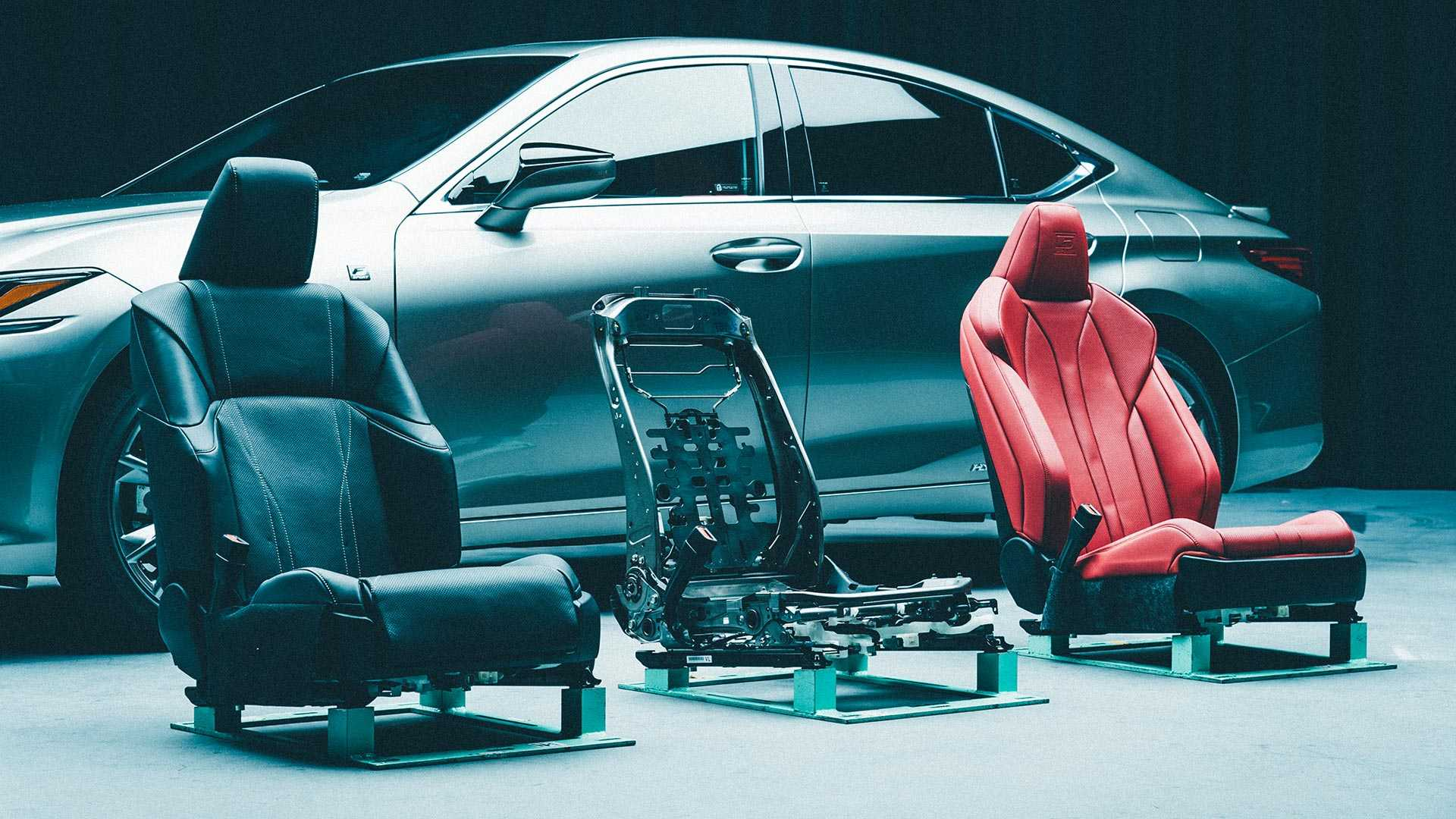 2019 Lexus Es Seats Are Engineered To Support Your Butt Better