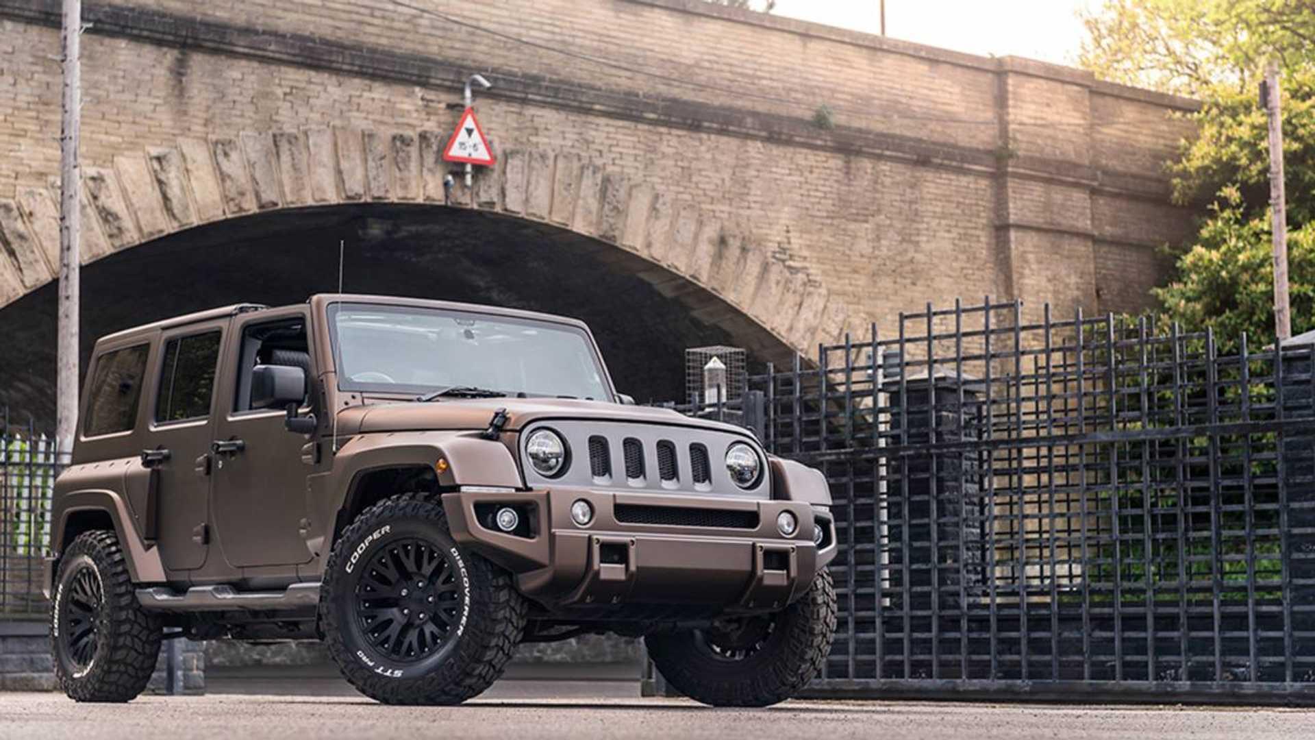 Jeep Wrangler Night Eagle For Sale Motor1 Com Photos