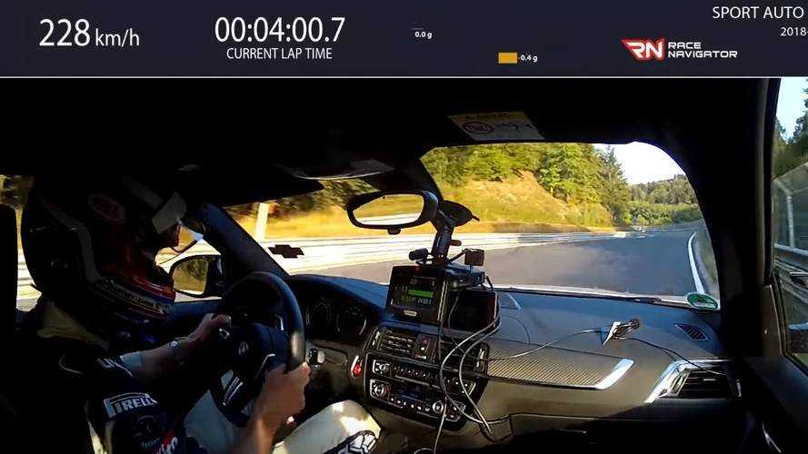 BMW M2 Competition'ın hızlı Nürburgring turunu izleyin