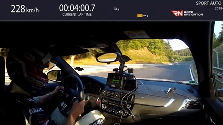 Watch The BMW M2 Competition Go Around The 'Ring In 7:52.36