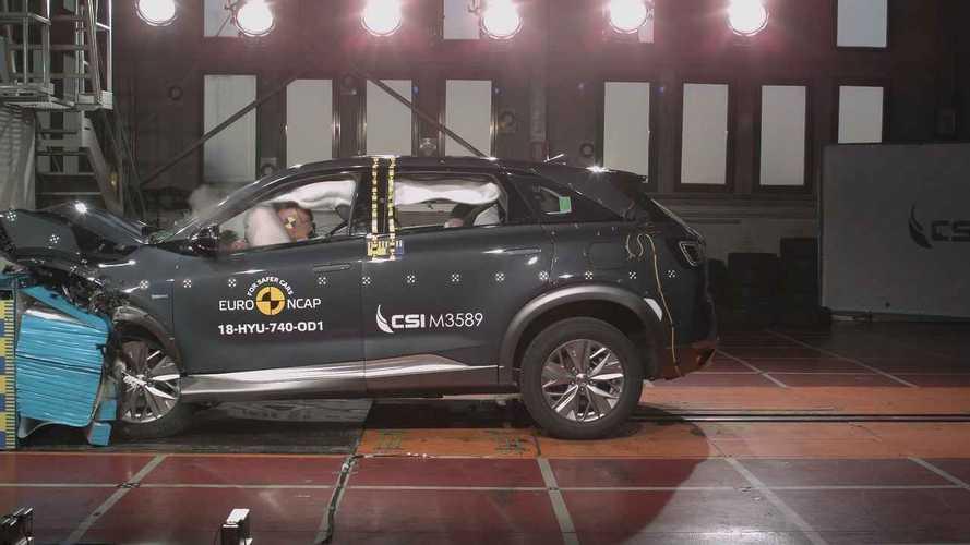 Mazda 6 2018, Mercedes Classe A 2018, Hyundai Nexo, Citroen Berlingo 2018 Crash test