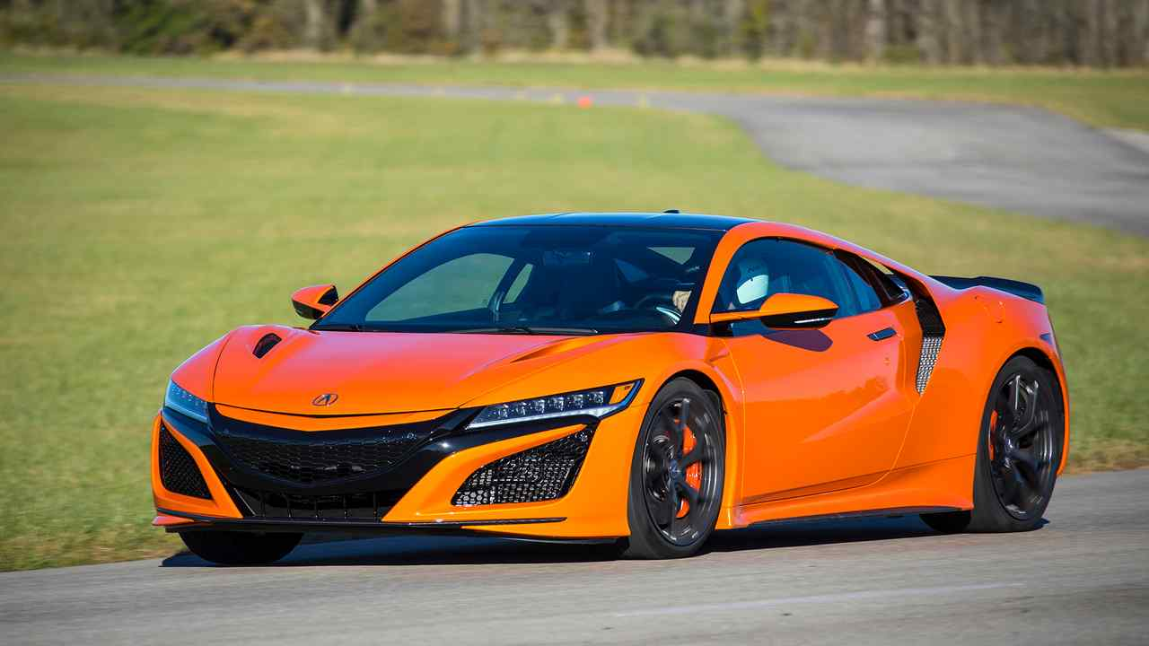 2019 Acura NSX: First Track Drive