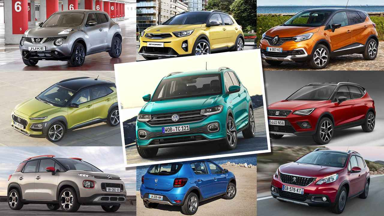 Mosaico rivales Volkswagen T-Cross 2019