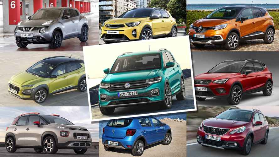 Слайд-шоу: 8 конкурентов нового Volkswagen T-Cross