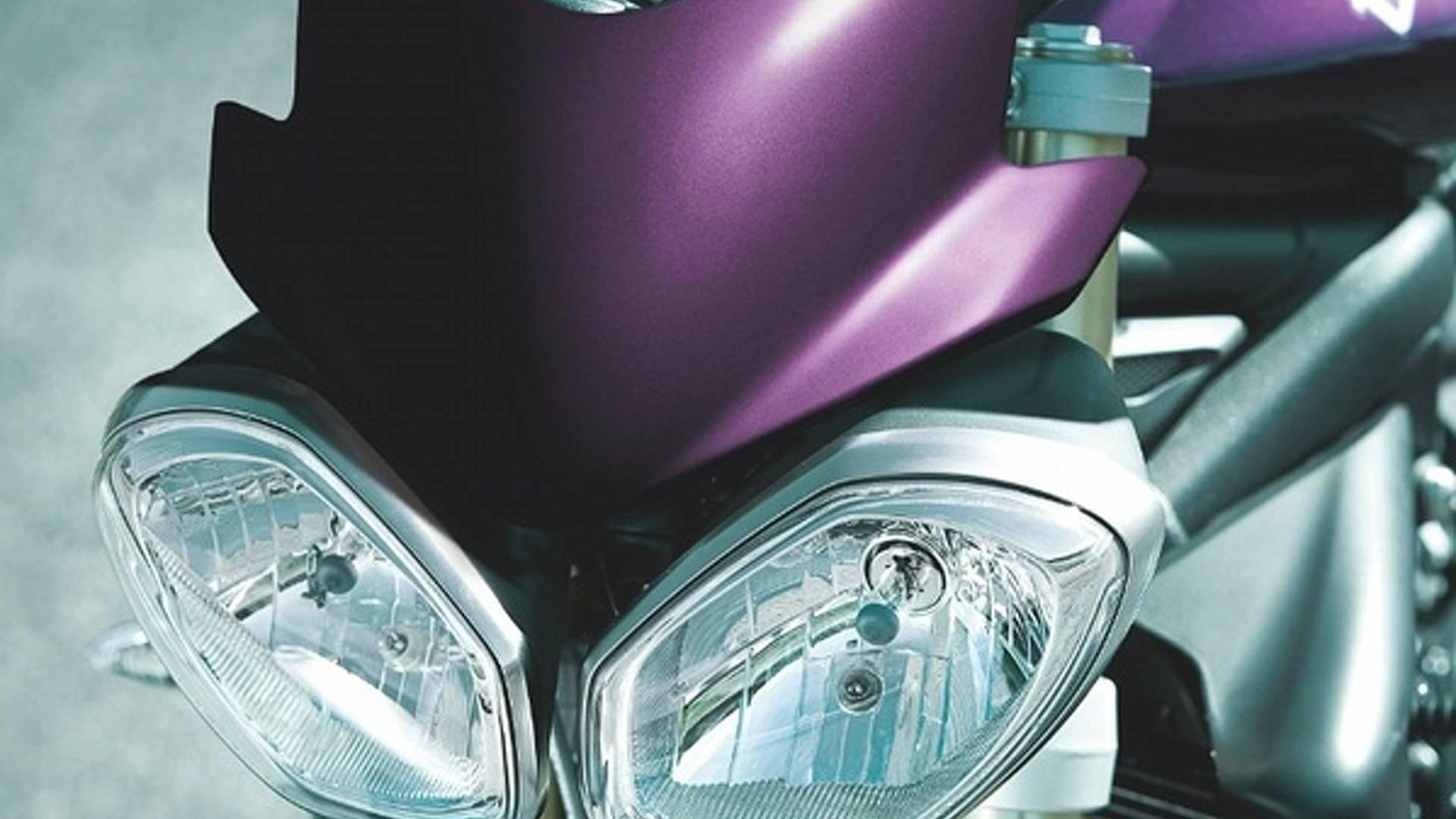 2012 Triumph Street Triple Purple