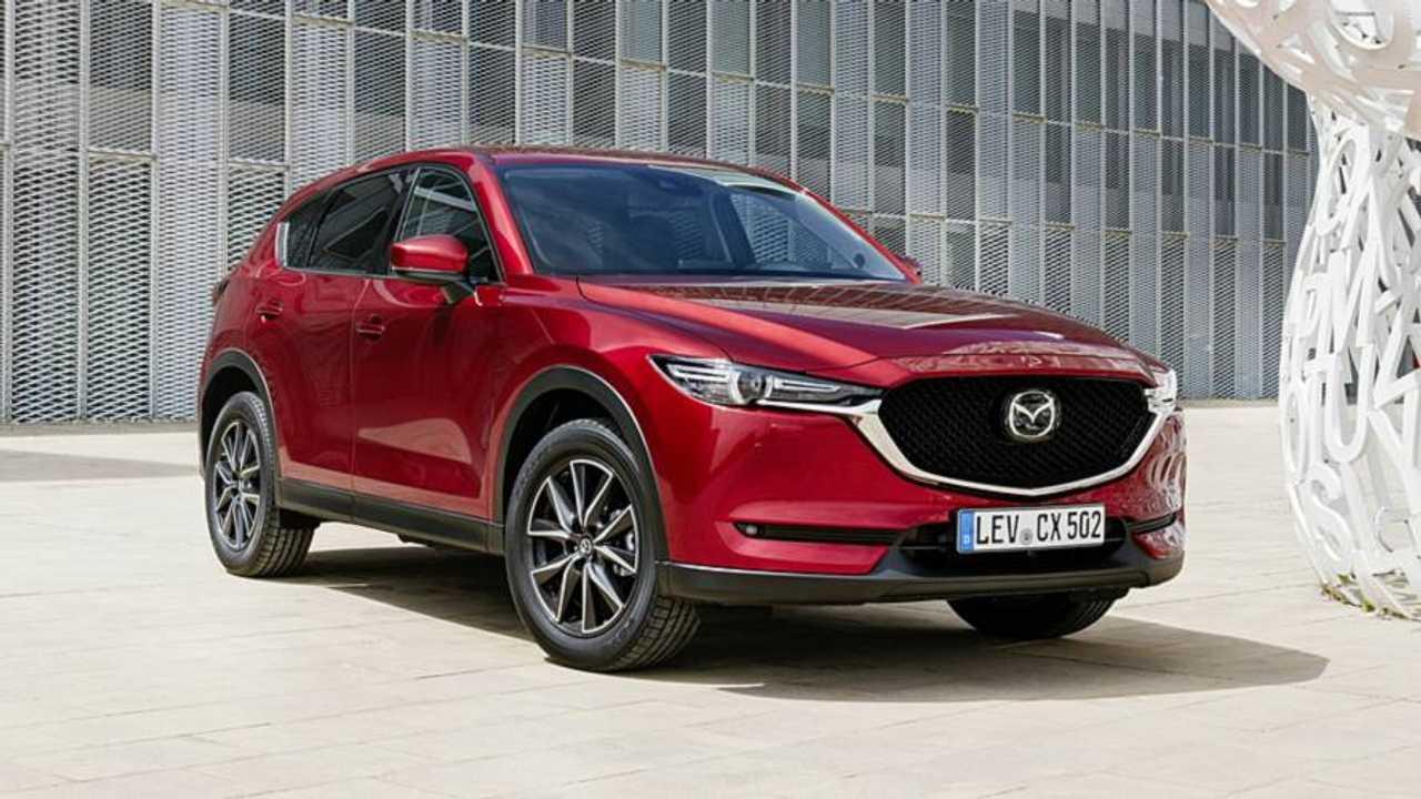 Mazda CX-5, più potenza per il diesel 2.2