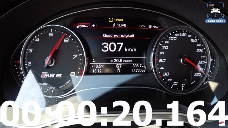 Insanely Quick 1,012-HP Audi RS6 Hits 186 MPH In Under 19 Seconds