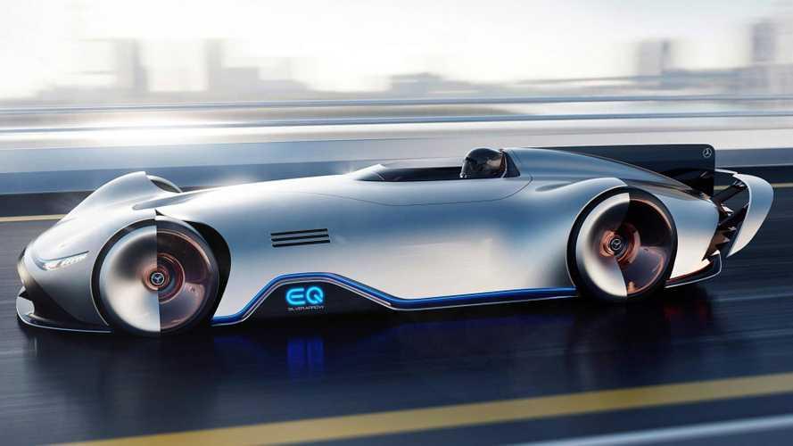 Mercedes-Benz сделал электросуперкар в стиле ретро