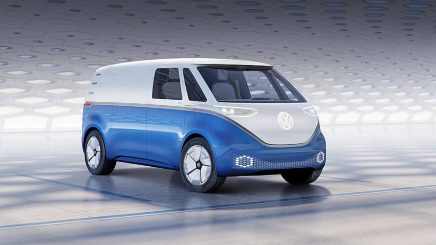 550 km-es hatótávval jön a VW I.D. Buzz furgonváltozata