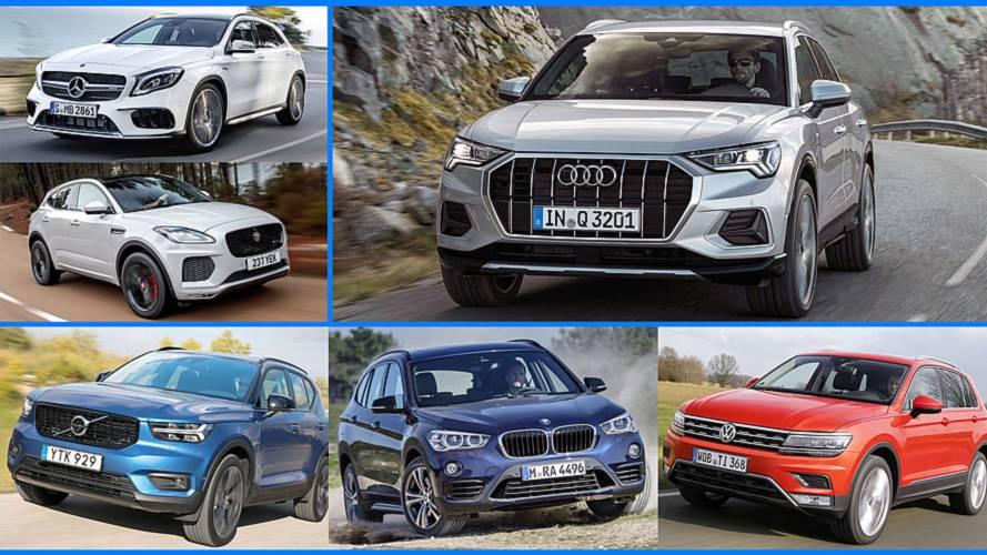 Der neue Audi Q3 und seine Konkurrenten