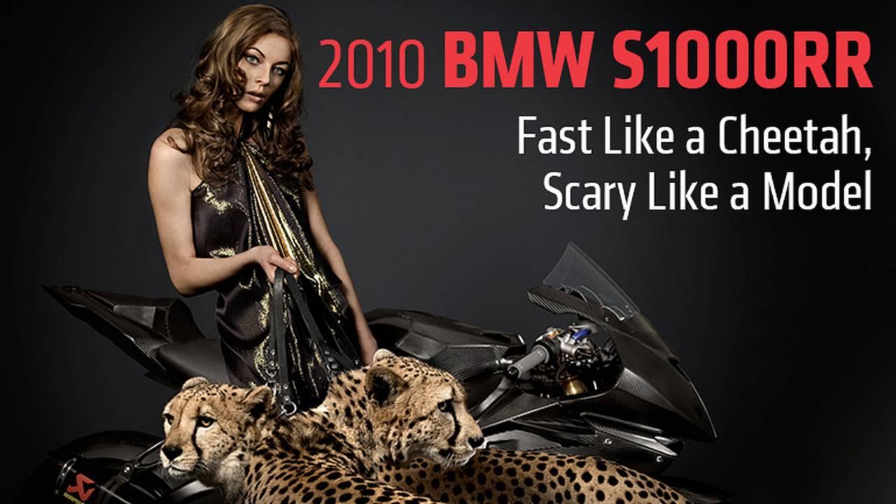 2010 BMW S1000RR - Fast Like a Cheetah, Scary Like a Model
