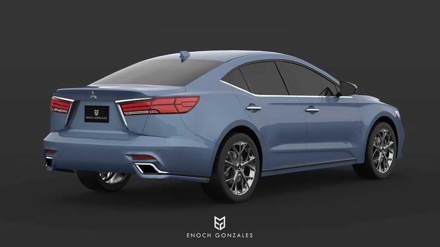 2020 Mitsubishi Galant Rendering