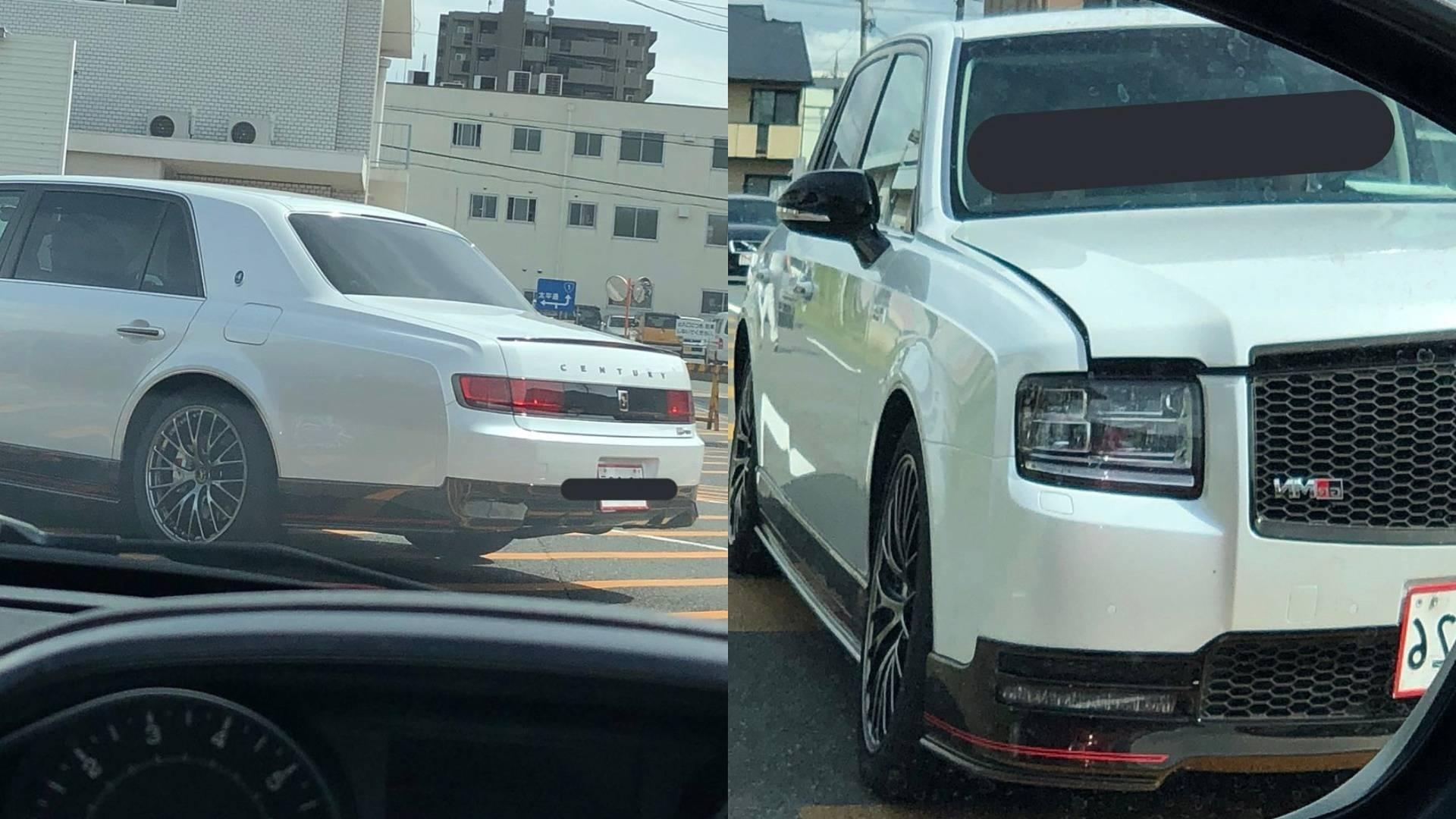 Toyota century grmn is real and its spectacular