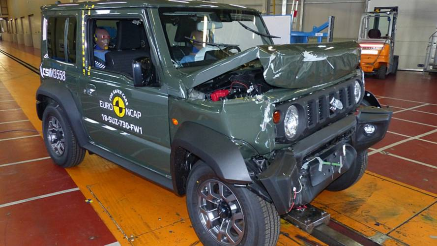 EuroNCAP: Nur drei Sterne für den neuen Suzuki Jimny