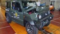 2019 Suzuki Jimny Euro NCAP crash test