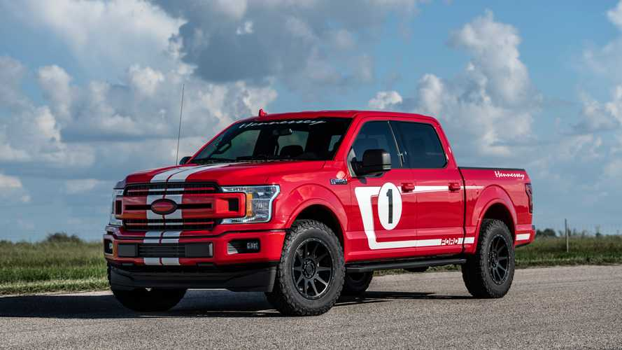 Hennessey Heritage F-150 Is A Ford GT40 With A Pickup Bed