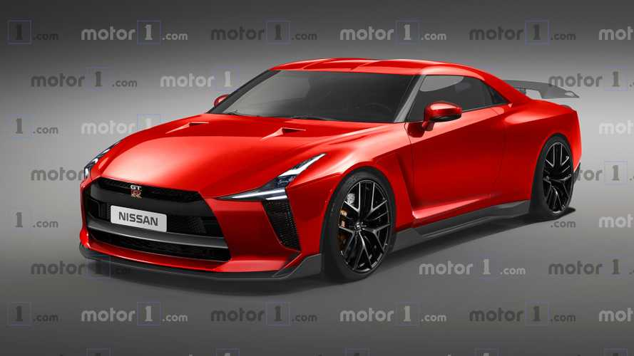New Nissan GT-R rendering