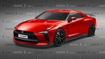 Yeni Nissan GT-R render
