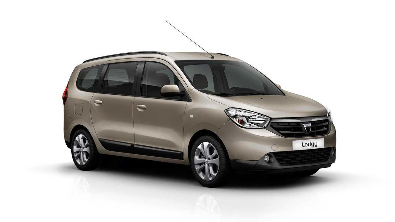 Con 7 plazas: Dacia Lodgy