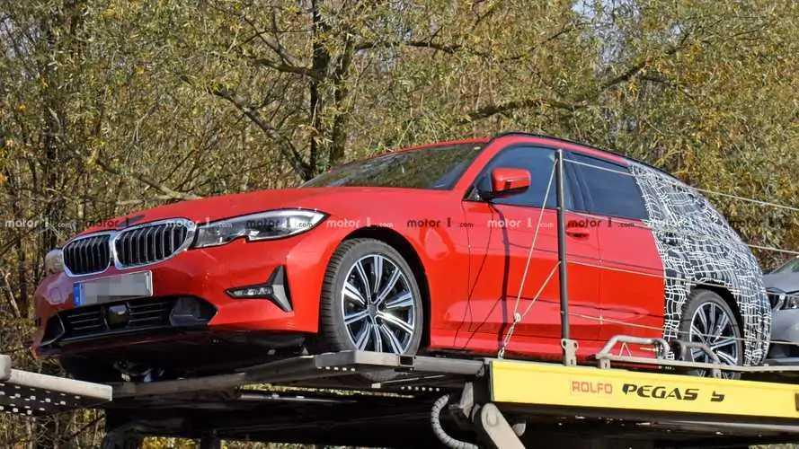 BMW 3 Serisi Touring kamuflajı azaltmış