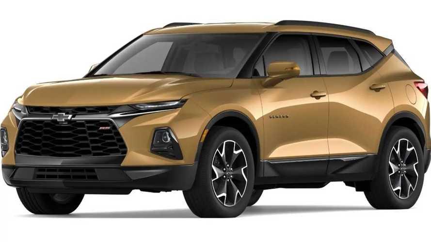 2019 Chevrolet Blazer Colors