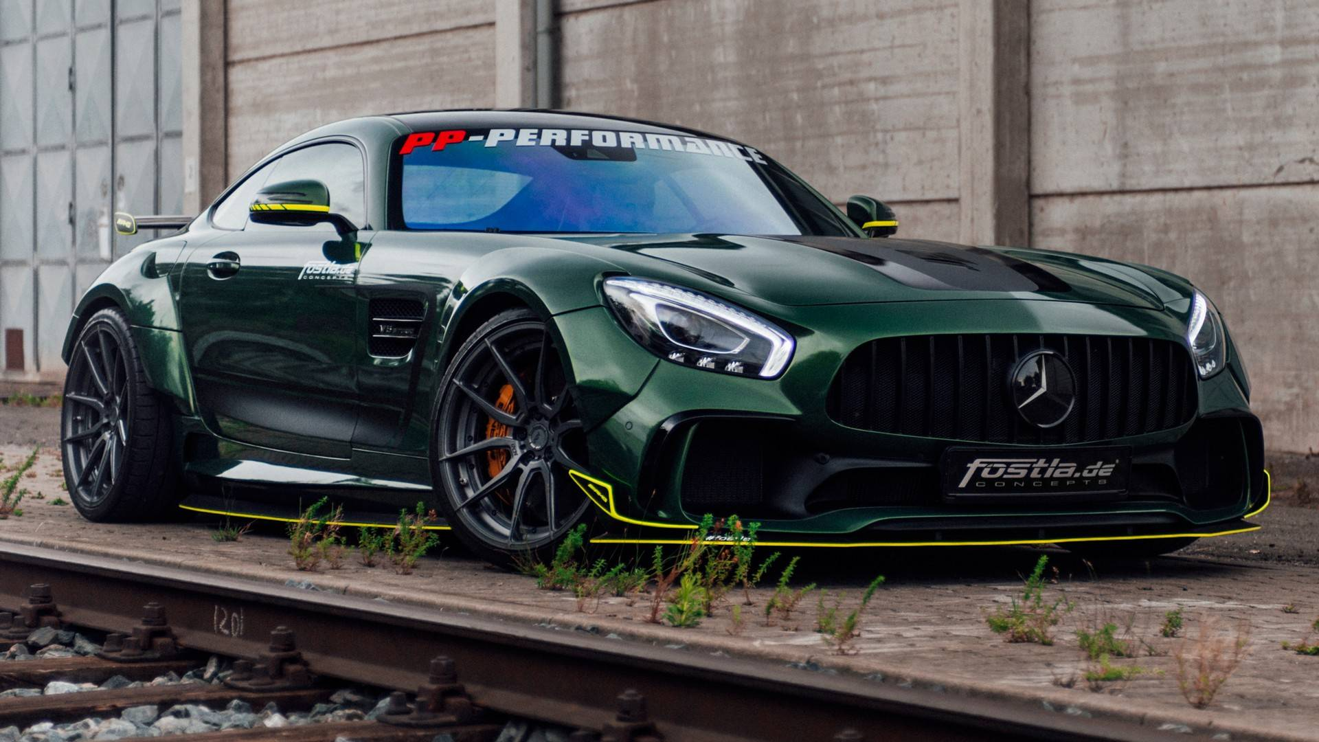 Mercedes-AMG GT Looks Mean And Green With 650-Horsepower Upgrade